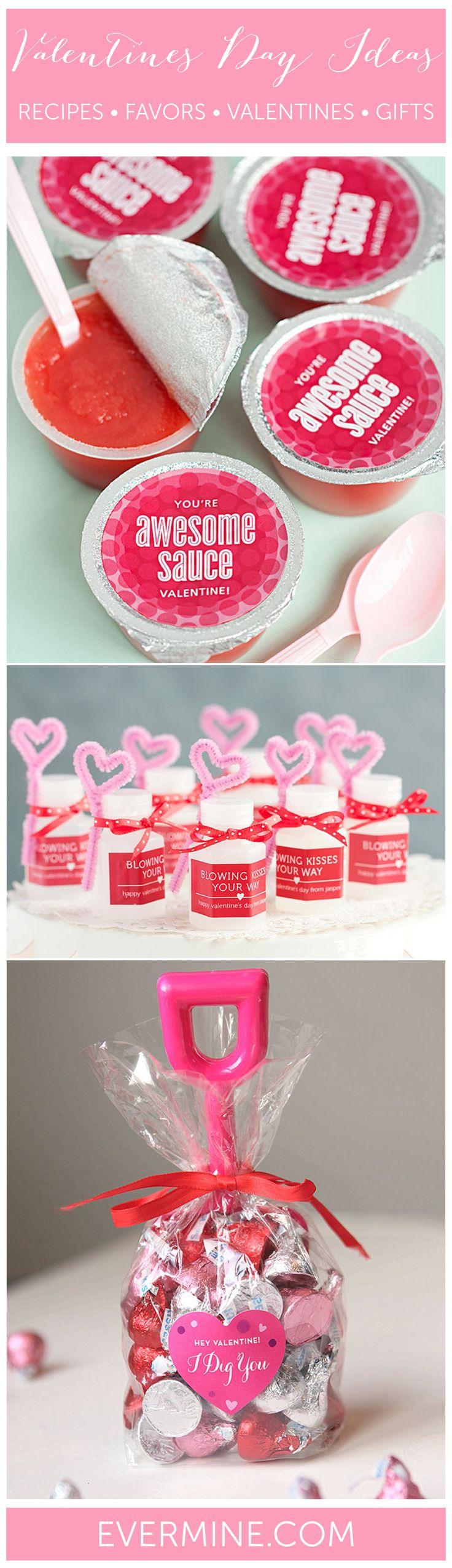 Valentines Day Ideas | Valentines Recipes, Favors, Crafts, Gifts, Kids Valentines | Evermine.com