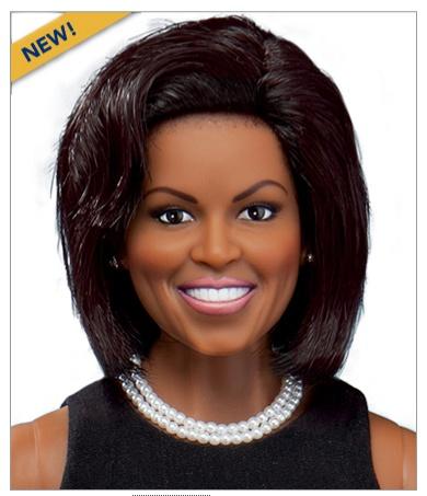 Michelle Obama doll.