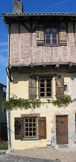 Cool medieval house in France