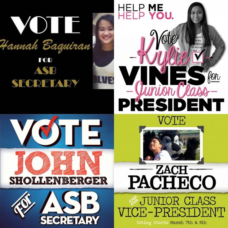 School Campaign Posters for Elections | competition by ...