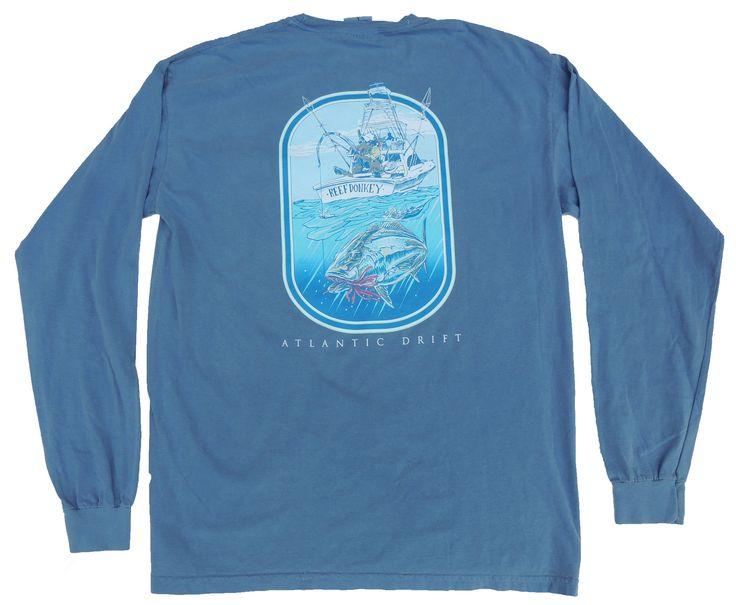 Reef Donkey Tee - L/S - Blue Jean