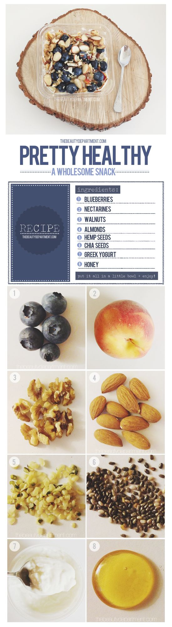 Healthy Snacking. Re-pin if you wanna try this! A favorite re-pin of www.facebook.com/GoLove.Ltd
