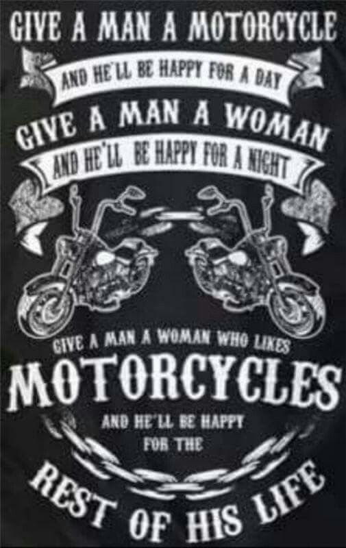 Rules for being a bikers old lady