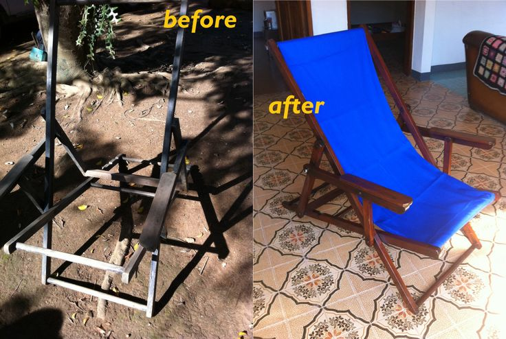 Chair repaired & refinished