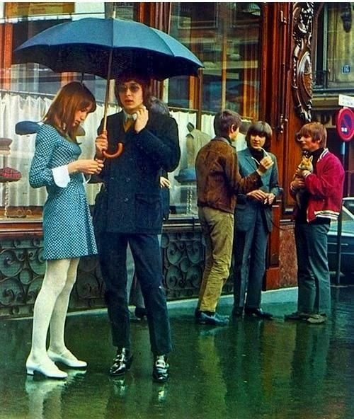 Street Scenes in London from the 1960s-1970s