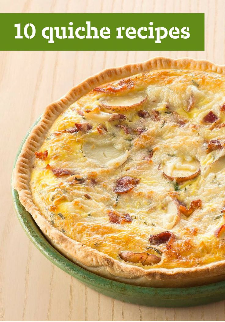 10 quiche recipes make breakfast special with a quiche. Black Bedroom Furniture Sets. Home Design Ideas