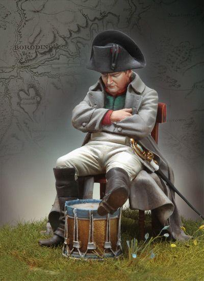 Napoleon at Borodino, 1812 S7-F36 54 mm 1/30 | The Napoleonic Wars | Andrea Miniatures | ANDREA DEPOT USA