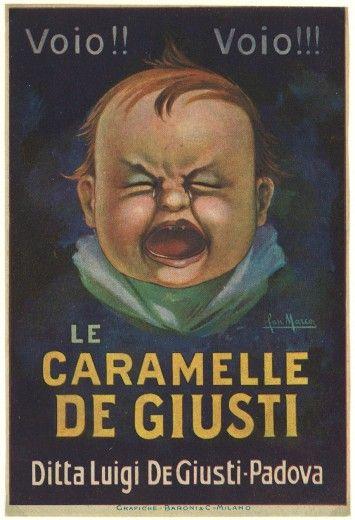 Vintage Italian Posters ~ #illustrator #Italian #posters ~ sweets