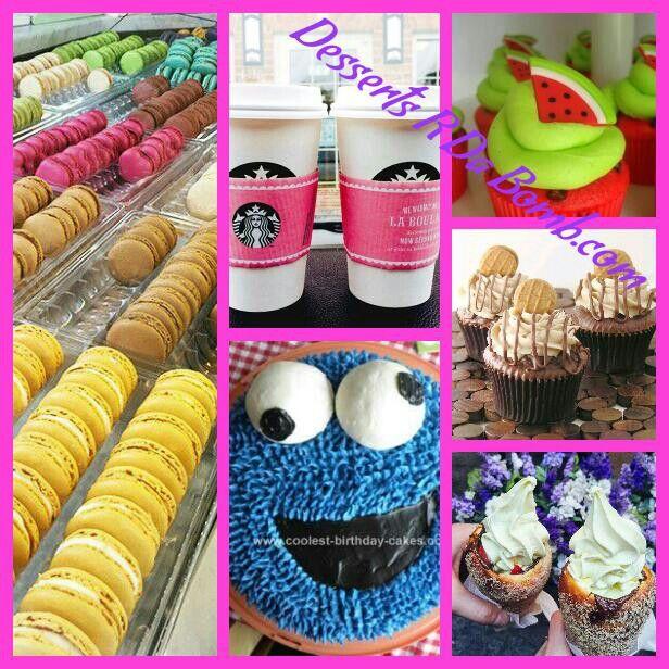 Desserts are the bomb.com so yummy!!!!!