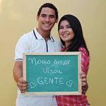 """42 curtidas, 1 comentários - Pamela Aparício De Andrade (@pam.aparicio) no Instagram: """"#familiade3 #babyJúlia #29semanas #mãedemenina #paidemenina"""""""