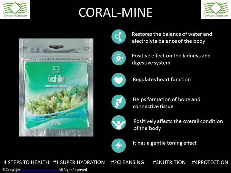 8 reasons why we need to start drinking water: #CoralMine #ColoVada #CoralClub