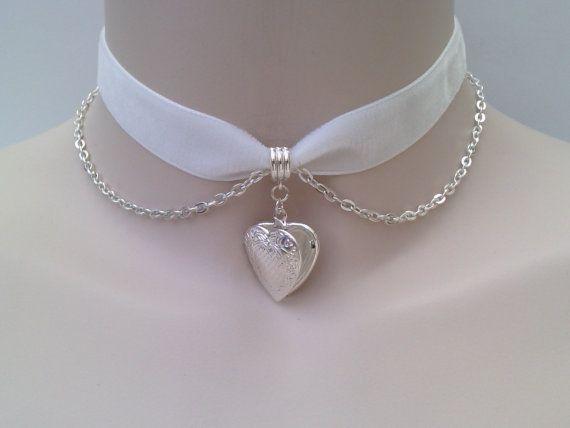 GOT IT, HAVE IT, LOVE IT!!!! ----- Silver Plated Opening HEART LOCKET With Belcher by TwirlyTrinkets, £4.99
