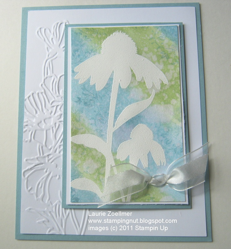 Card Making Ideas Nature Part - 16: Lauries Stampin Spot: Challenge Thursday SSC #051: Inspired By Nature