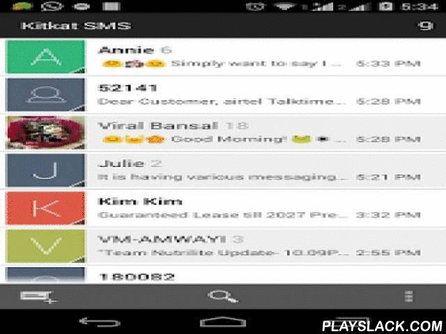 Theme Messaging  Android App - playslack.com ,  Now enjoy 10 different color theme in single Messaging application. There will be different color theme for each contact in your contact list. This will make your SMS application unique and very beautiful.Have a feel of Modified Version of Latest Android Marshmallow 6.0 Messaging.Theme Messaging is basically ported from original android Marshmallow 6.0 open source. It is modified to provides 10 different colored theme and color to make it…