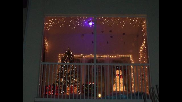 33 best Balcony Christmas lights images on Pinterest ...