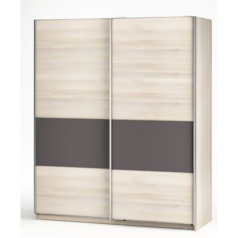 armoire 170 cms - 2 penderies