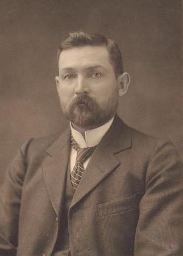 Chris Watson, Australia's Third Prime Minister. He was the first Labor Prime Minister and held office for four months in 1904
