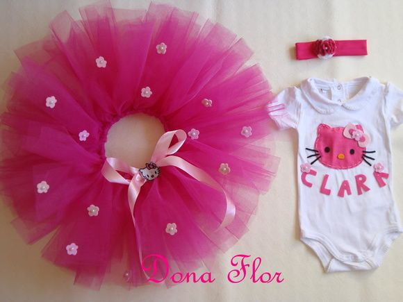 Set tutu hello kitty