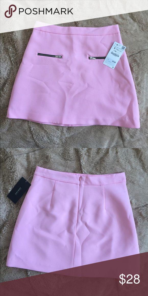 Pink Zara Skirt Beautiful pink skirt from Zara. Unworn with tag, size small. Zara Skirts