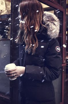 The Chelsea #Parka for Canada Goose #Fall/Winter 2015