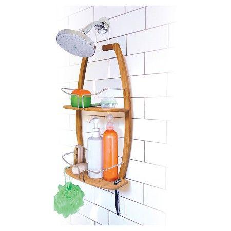 Shower Caddy Bamboo Spa Sensations : Target