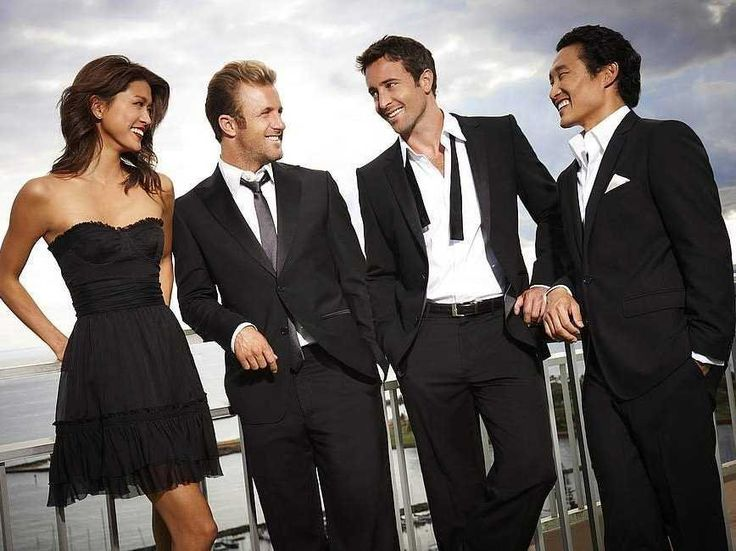 Hawaii Five-0.... hot guys, hot girls... solving crimes and saving the day... every monday...