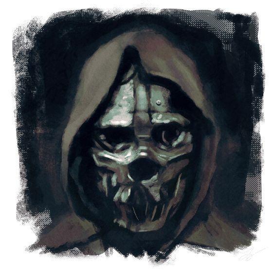 Dishonored - Corvo's Mask by juhoham.deviantart.com