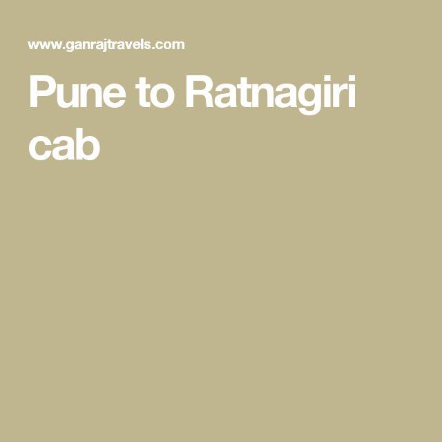 Pune to Ratnagiri cab