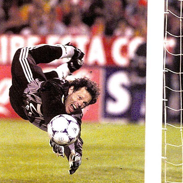 Michel #Preudhomme (#Belgium) was considered one of the world's best goalkeepers during his career for his amazing saves, terrific reflexes and agility, and the first winner of the Yashin Award as the bestgoalkeeper at the 1994 World Cup.
