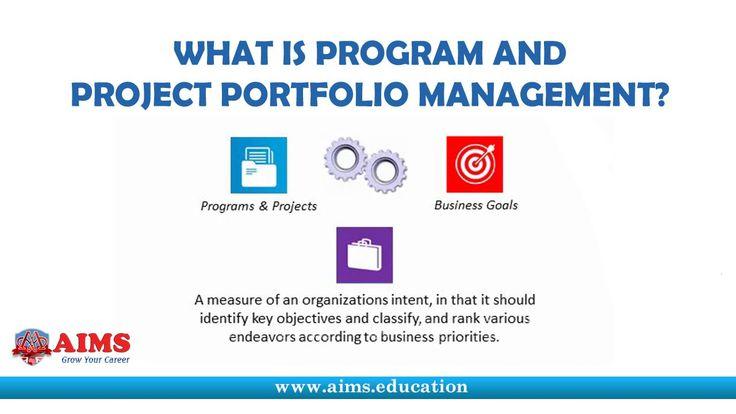 What is Program Management, Portfolio Management and Project Management ...