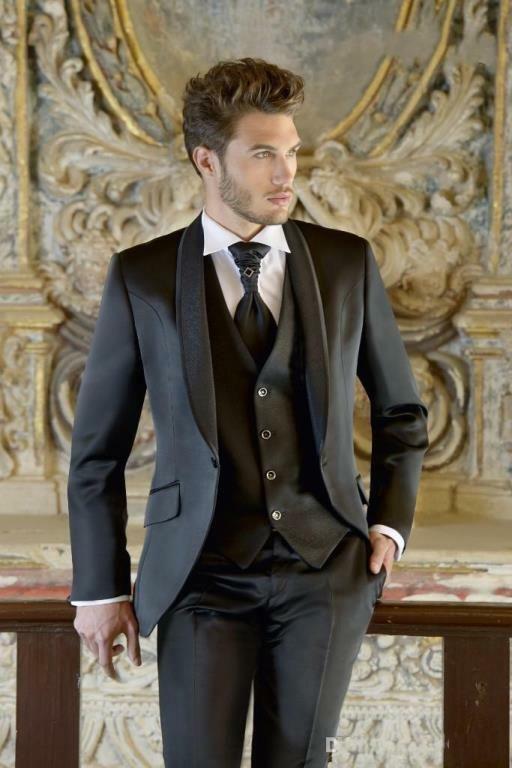 90fd8d3a7ec3 Mens Wedding Slim Fit Designer Blazer Groom 3 pcs.Suit Coat Pant Full Tuxedo-N44  #fashion #clothing #shoes #accessories #weddingformaloccasion ...