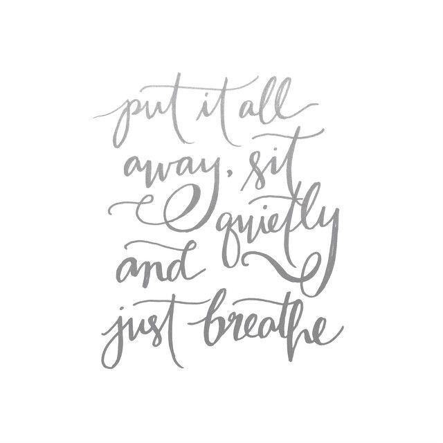 Just Breathe Tattoo Quotes Image Quotes At Hippoquotes Com: 1000+ Just Breathe Quotes On Pinterest