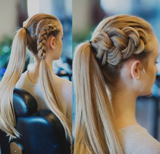Terrific 1000 Ideas About Long Braided Hairstyles On Pinterest Hairstyles For Women Draintrainus
