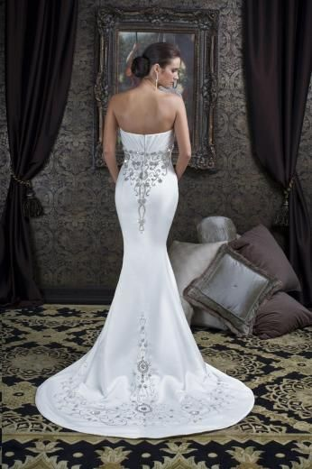 Satin Fishtail Wedding Dress At Couture Bride Hornchurch Essex
