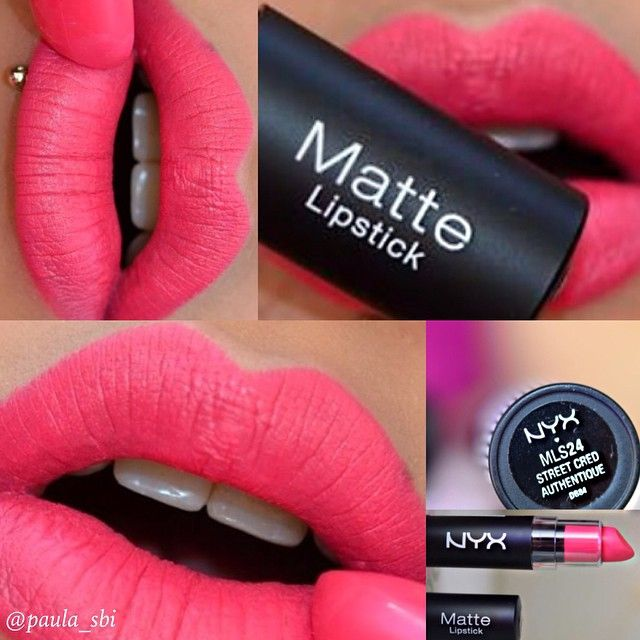ber ideen zu nyx matte lipsticks auf pinterest nyx matter lippenstift und matte. Black Bedroom Furniture Sets. Home Design Ideas