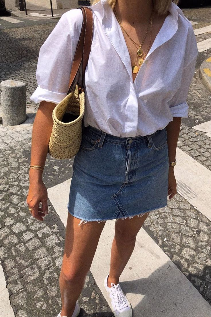 25+ Ways To Style A Button-Down Shirt – #ButtonDow…