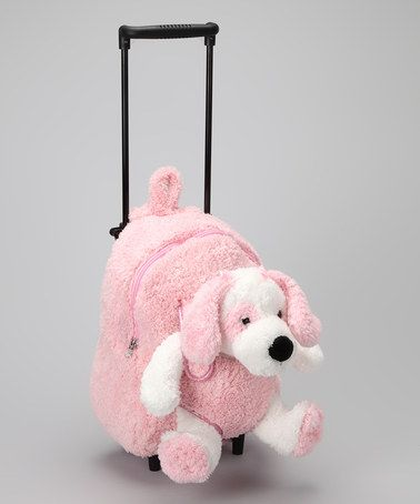 Take a look at this Pink Dog Trolley Bag by Popatu by Posh on #zulily today!