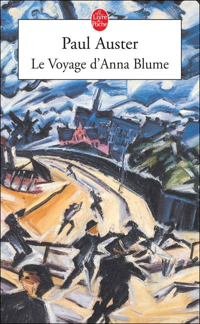 Le voyage d'Anna Blume  Difficile de lâcher ce livre!  L'ambiance est très prenante, l'histoire se déroule dans une ville étrange qui se dégragége avec ses habitants. Une jeune fille débarque dans cette ville à la recherche de son frère disparu et le lecteur la suit dans sa descente aux enfers et dans la lente désagrégation de son être. Tout comme la ville et ses habitants, elle est rongée par la misère et le délitement ambiant.  C'est étonnant, intriguant... sombre mais subjuguant!