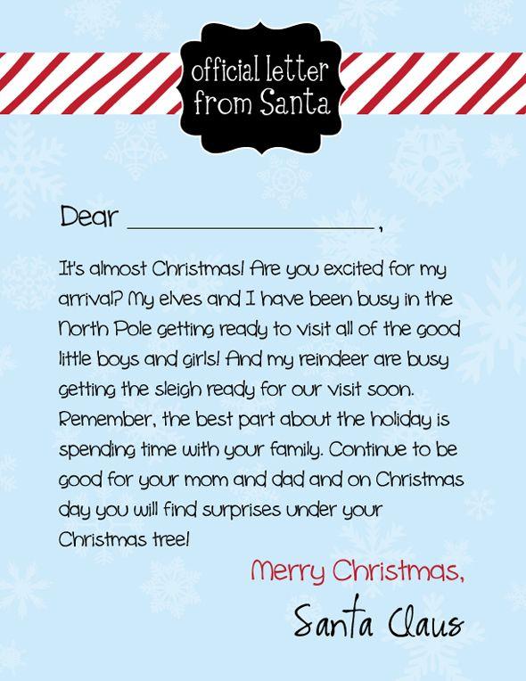 letterfromsanta christmas letter from santa free letters from santa christmas 2017 kids christmas