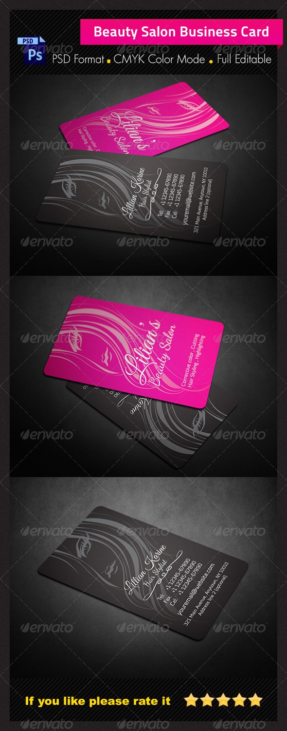 25 best bussiness card haircut images on pinterest cards black beauty salon business card business cards print templates magicingreecefo Images