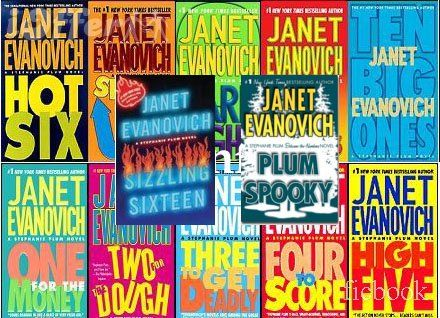 Anything by Janet Evanovich