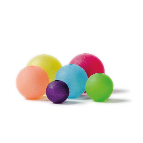 Bunte Polarisperlen in Kugelform die ideale Perle für bunte Schmuckstücke!
