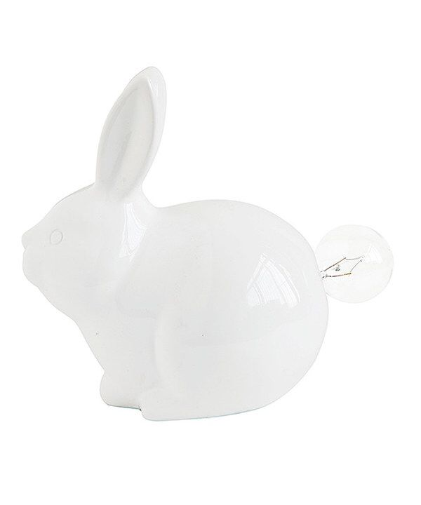 Look at this Ceramic Bunny Tail Lamp on #zulily today!