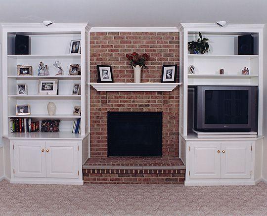 best 20 bookshelves around fireplace ideas on pinterest