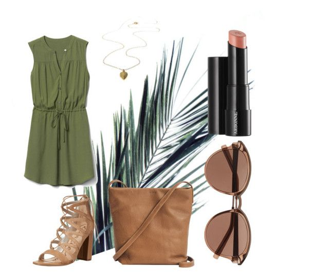 """Untitled #73"" by danaemf on Polyvore featuring BAGGU, Gap, Arbonne, Witchery and Sam Edelman"