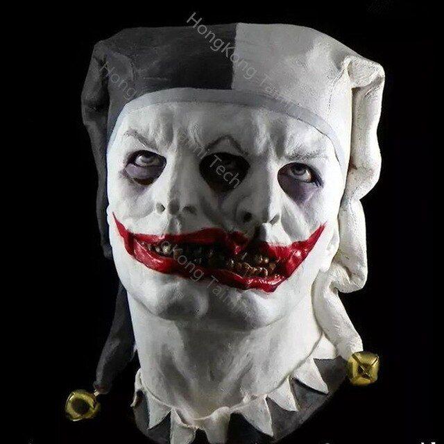 Halloween 2020 Masks Jester Pin by Verona Monroe on Masks | Scary clowns, Halloween masks