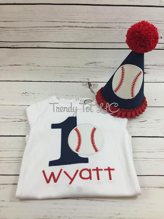 Boy First Birthday Baseball Outfit Sports Cake Smash Set Ball Bat Trendy Tot Boys 1st Hat In 2019