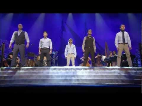 "Celtic Thunder Voyage - ""Atmos, Druids, Deus Meus & Dulaman"".  (From YouTube Comments:      Dúlamán na binne buí, Dúlamán Gaelach    Dúlamán na farraige, Dúlamán Gaelach) - translates to -    Seaweed from the yellow cliff, Irish seaweed    Seaweed from the ocean, Irish seaweed"