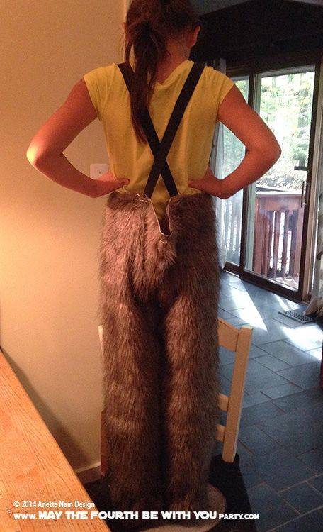 DIY Chewbacca Costume. Check out all our other Star Wars costumes on our blog…