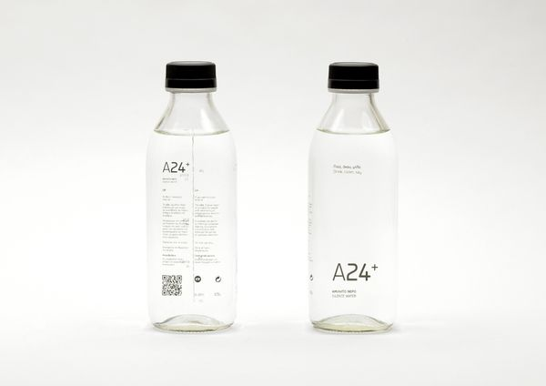 A24+ Silence Water by Chris Trivizas, via Behance